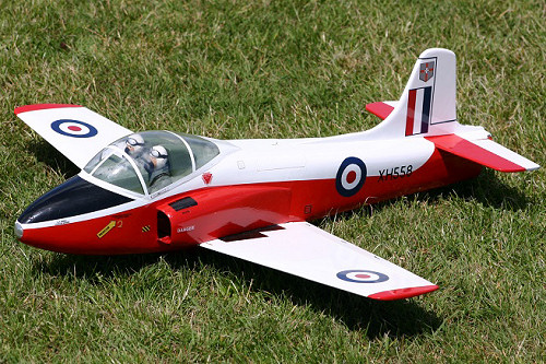 Tony Nijhuis Designs EDF Jet Provost - Dogfight Double